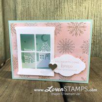 NEW Shadowbox Card Tutorial: Hometown Greetings Christmas Card