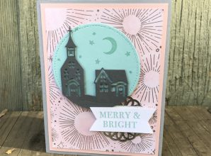 LovenStamps: Get out your Sponge Brayer for the Year of Cheer Specialty Designer Series Paper and Hometown Greetings Edgelits for Stamps in the Mail Club with Meg