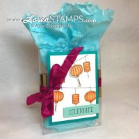 Stampin Blends Marker Tutorial: Shadows and Highlights with Strings of Lanterns