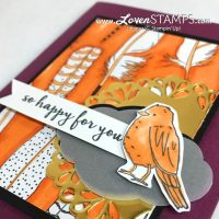 Stampin Blends Marker Tutorial: Backgrounds with Just Add Color Specialty Paper