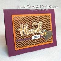 Stampin Blends Markers Tutorial: Simple Shadows with Color Me Happy