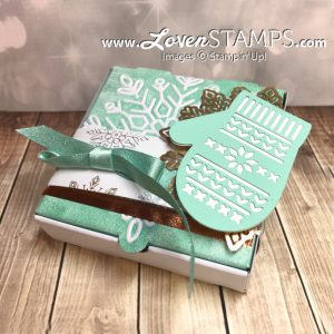 LovenStamps: Technique Idea - try inking your Snowflakes Embossing Folder, then dry emboss a Mini Pizza Box
