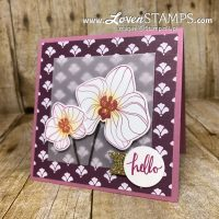 Floral Hello: How to Soften Busy Designer Series Paper Patterns