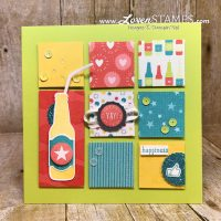 Stamping 101: How to Make an Art Sampler Frame with Upcycled Cardboard Easel