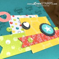 Stamping 101: How to Create Collage Layering Cards with Bubble Over