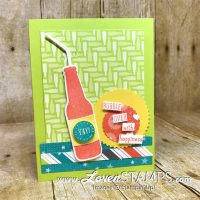Bubble Over with Happiness – Soda Pop Congrats Card