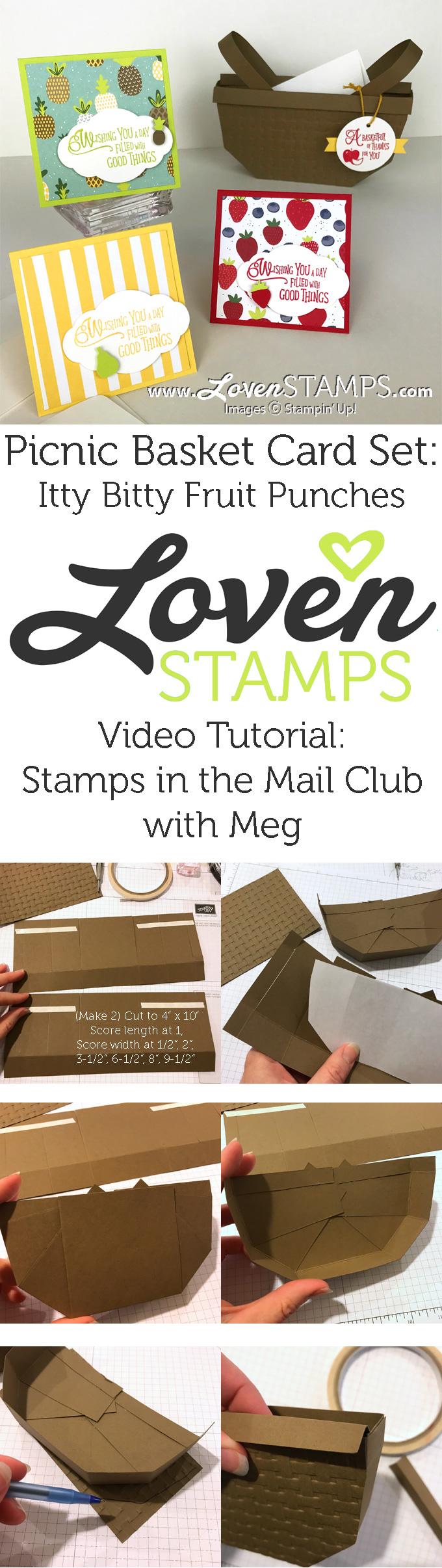 basket weave embossing folder make your own basket tutorial