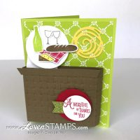 Picnic Basket Pop-Up Card: A Tabbed Surprise Pop-Up Card
