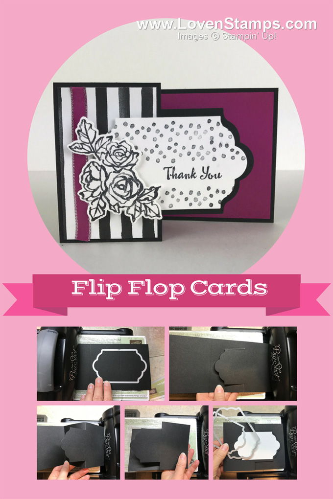 Flip Flop Cards Made Simple Petal Palette Tutorial Lovenstamps