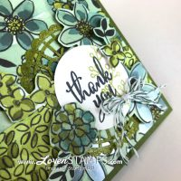 Gotta Have It All: Fussy Cut Flower Card