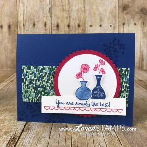 LovenStamps: Varied Vases and the Vases Builder Punch - 2018-2020 In Color feature card