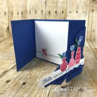 The Secret of Successful Ruffles – Varied Vases Gate Fold Card