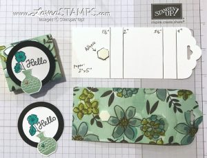 LovenStamps: Simple Scoring Tutorial for DIY Purse Post-It Notes Holders with the Tag Topper Punch