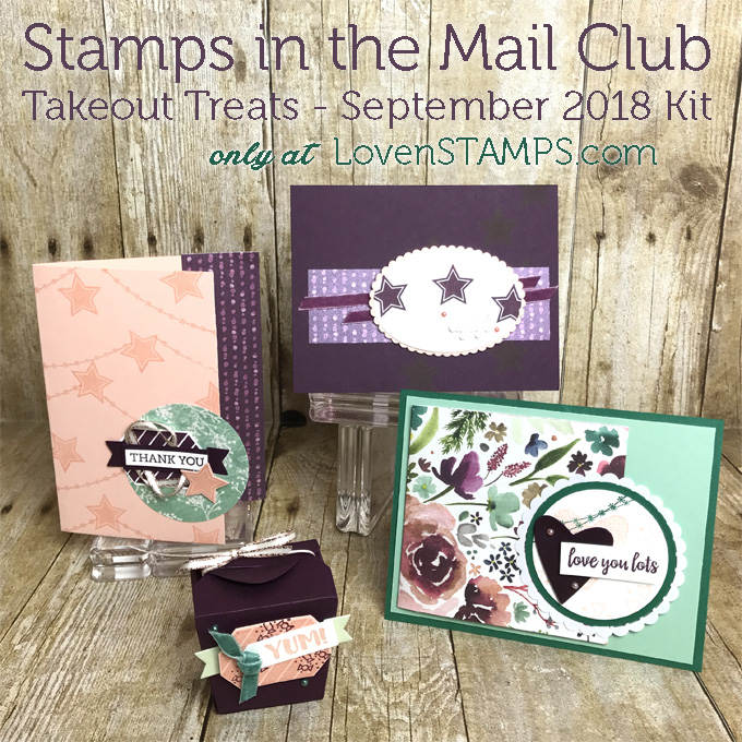 Monthly Stamps In The Mail Club Kits With Meg Lovenstamps