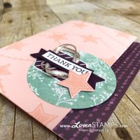 Simple Stamping Tips: Peekaboo Edge Card