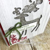 Crafting Hacks: Silhouette Cards with Dashing Deer