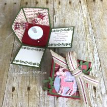 Stamping Made Simple: Explosion Box Candle Cards for Christmas