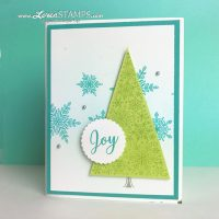 Bright and Breezy Christmas: Snow is Glistening Special Limited-Time Stamp Set