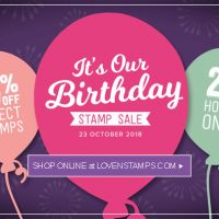 Happy Birthday to Stampin' Up! – Celebrate with 15% off 30 Stamp Sets