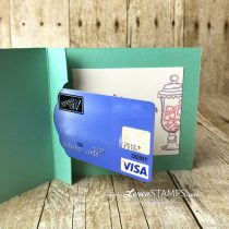 Secret Slot Gift Card Holder: How Sweet It Is with the Pretty Label Punch