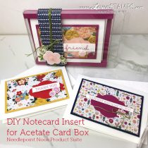 DIY Gift Ideas: Note Cards & Envelopes in a Pretty Box