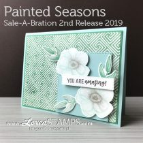 Painted Seasons and the NEW Sale-A-Bration Coordination Framelits