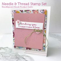 Trends in Stamping: Add Stitching to Your Favorite Cards