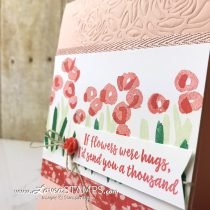 Beautiful Backgrounds: Springtime Impressions Embossing Dies