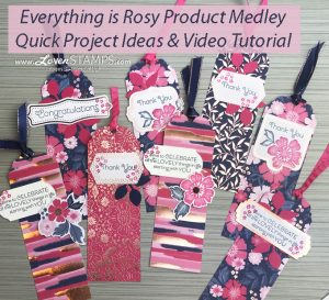 LovenStamps: Sweet and Simple projects with Everything is Rosy, limited time video tutorials