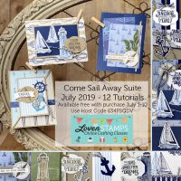 come sail away stampin up card ideas