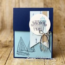 Sailing Home: Sweet Summer Stamping in a Breeze