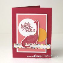 Dino Days of Summer: Friend-O-Saurus Sweet & Simple Stamping