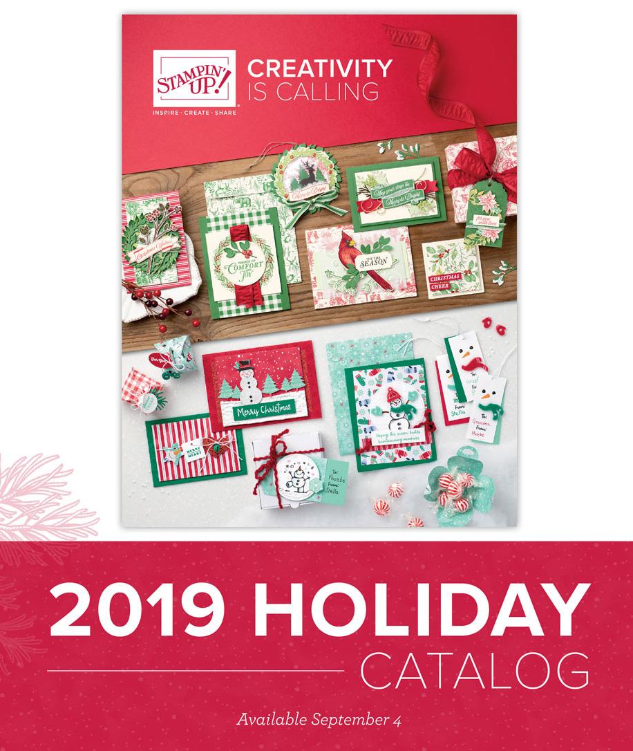 Stampin Up Holiday Catalog 2019