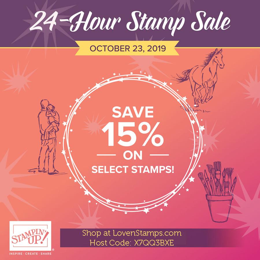 24 hour stamp sale lovenstamps
