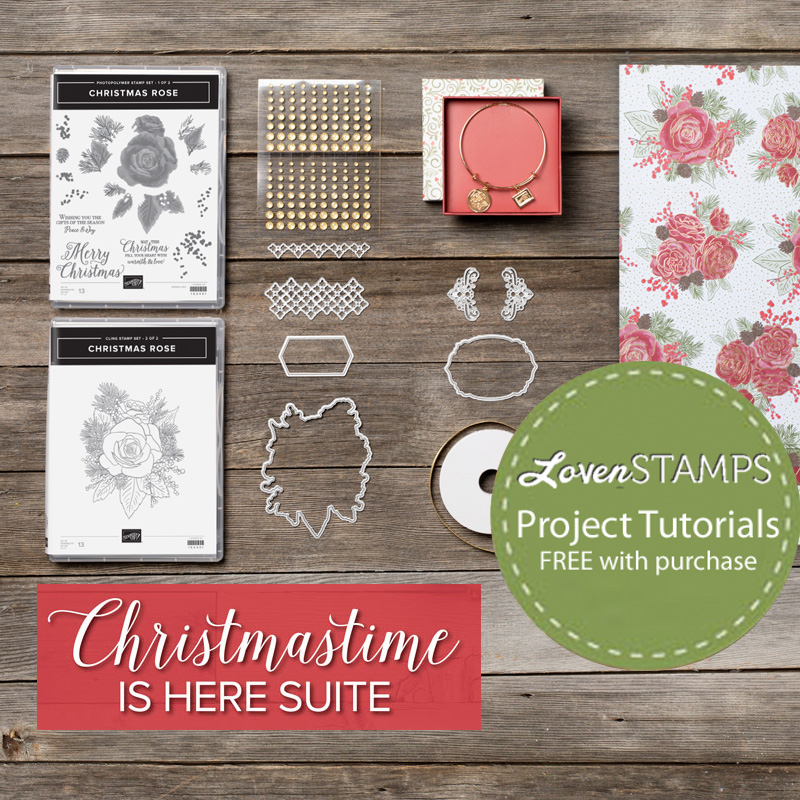 lovenstamps free stampin up tutorials christmastime is here