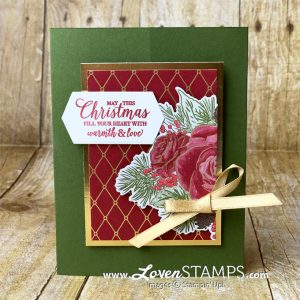 christmastime is here stampin up video tutorial pdf from lovenstamps