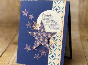 stitched stars dies so many stars brightly gleaming designer series paper