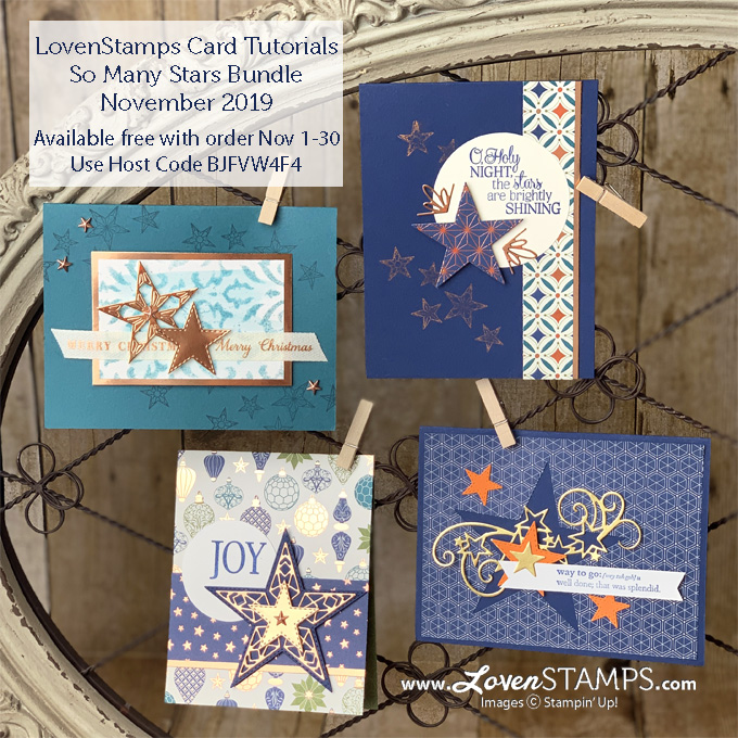 stitched stars dies so many stars stamp set stampin up holiday catalog video tutorial