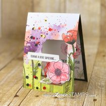 Pretty Inside and Out: #DSPCardBase with a Peek-A-Boo Window