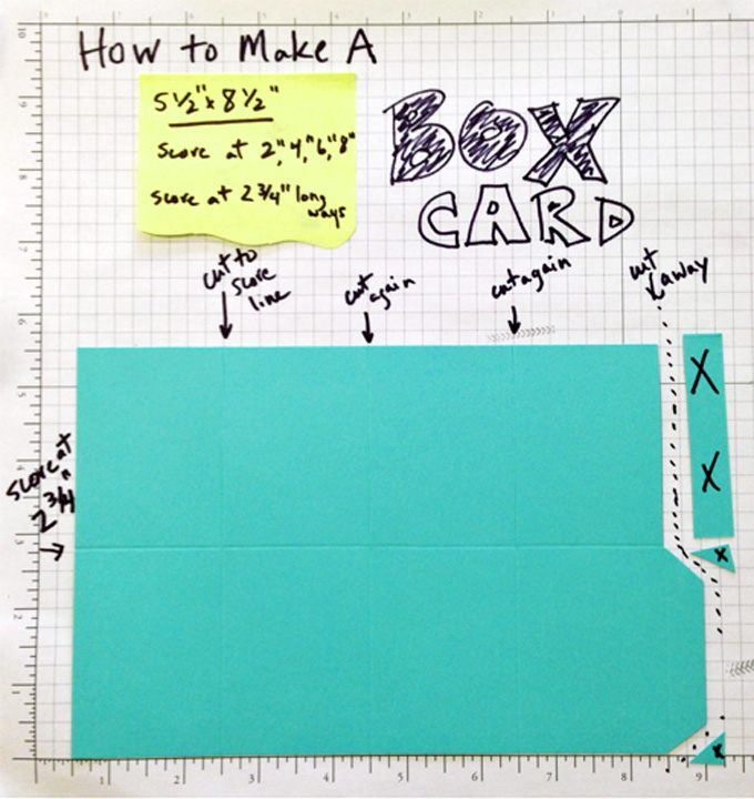 pop up box card lovenstamps video tutorial simple directions make your own easy design