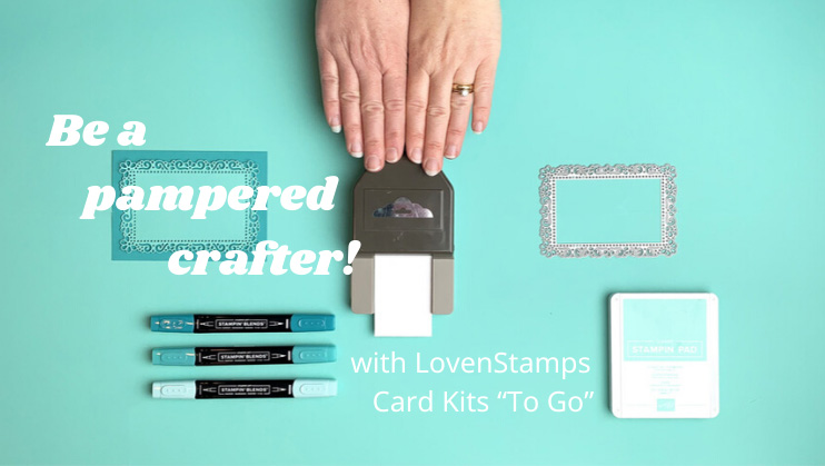 craft kits by mail from Meg Loven Stampin Up demonstrator since 2002