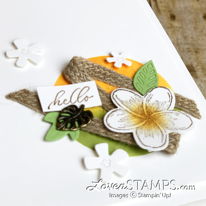 reverse masking technique video tutorial stampin up timeless tropical stamp set
