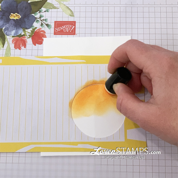how to reverse masking technique video tutorial stampin up timeless tropical stamp set