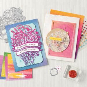 artistry blooms stampin up new suite collection