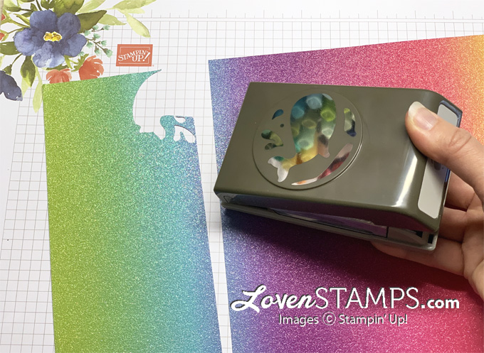 how to use rainbow glimmer sheets for multicolor punching whale spray punch trick