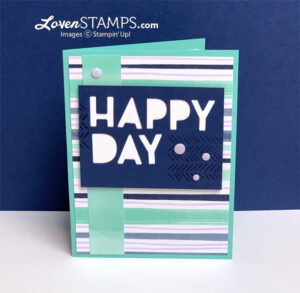 resin dots lovenstamps playing with patterns stampin up cue the confetti card idea