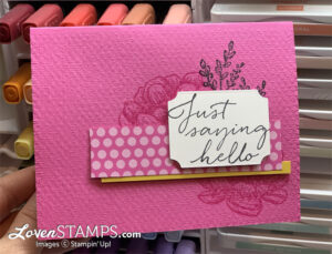 tasteful touches in good taste suite new magenta madness in color stampin up