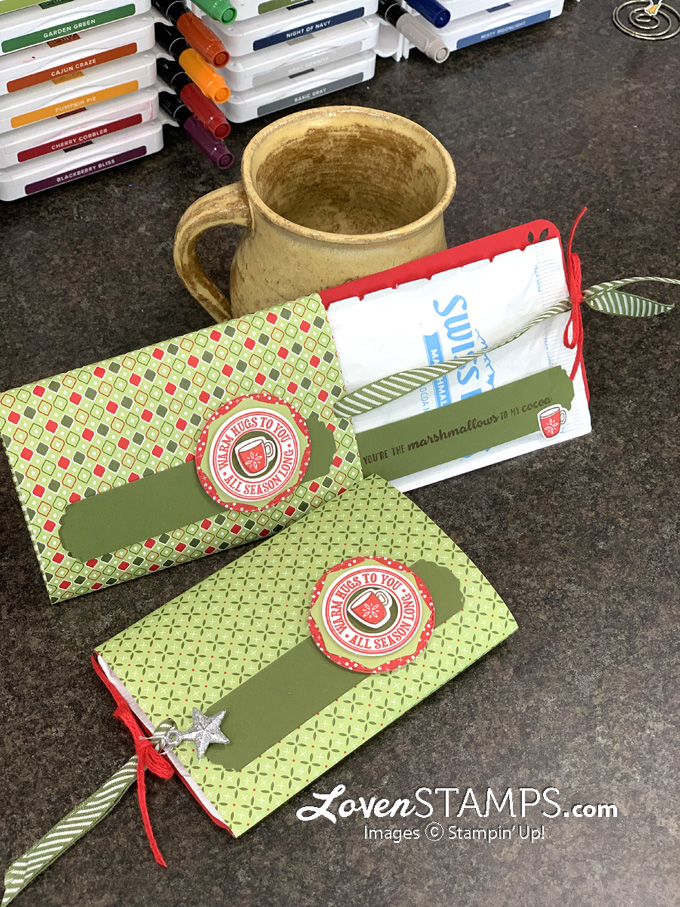 video tutorial hot cocoa greeting card red and green slider