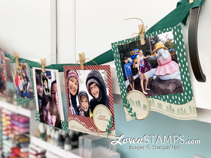 photo christmas banner red green