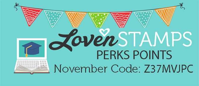 lovenstamps perks points hostess code